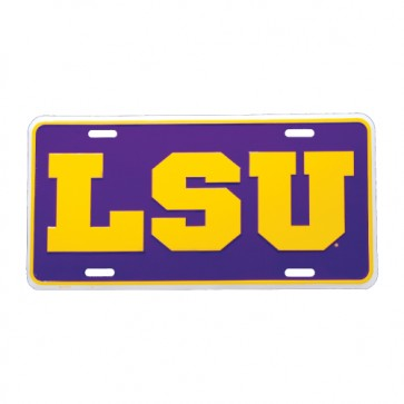 #610 Metal License Plate Tag