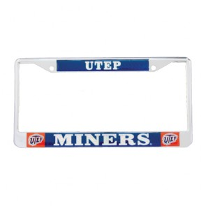 #1327 Logo Dome License Frame