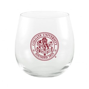 #1505 Red Stemless Wine Glass - 16oz