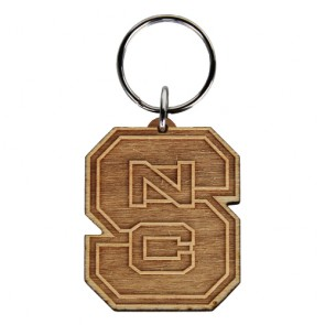 #2158 Laser Etched Birch Keytag