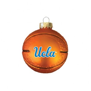 #2373 Glass Basketball Ornament