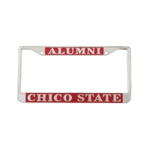 #601 Chrome Plated License Frame