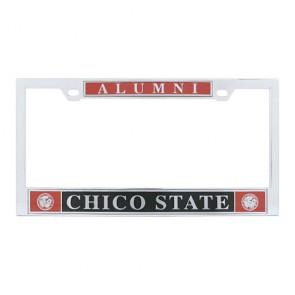 #607 Polished Chrome License Frame