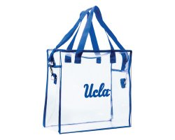 #2306 Clear Zippered Stadium Tote